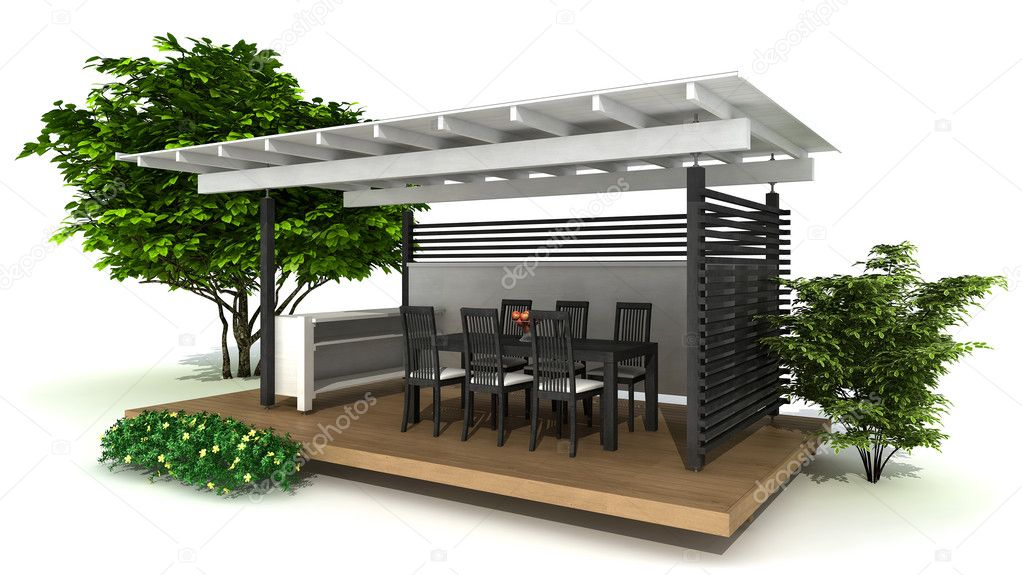outdoor k che stockfoto imagewell 25527525. Black Bedroom Furniture Sets. Home Design Ideas