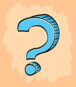 Fényképek rajzfilm kérdés szimbólum