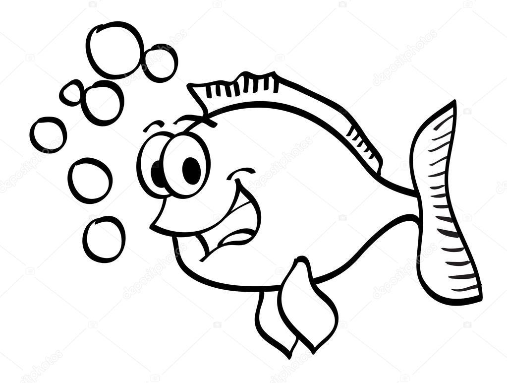 Imágenes Burbujas De Agua Para Colorear Dibujos Animados De