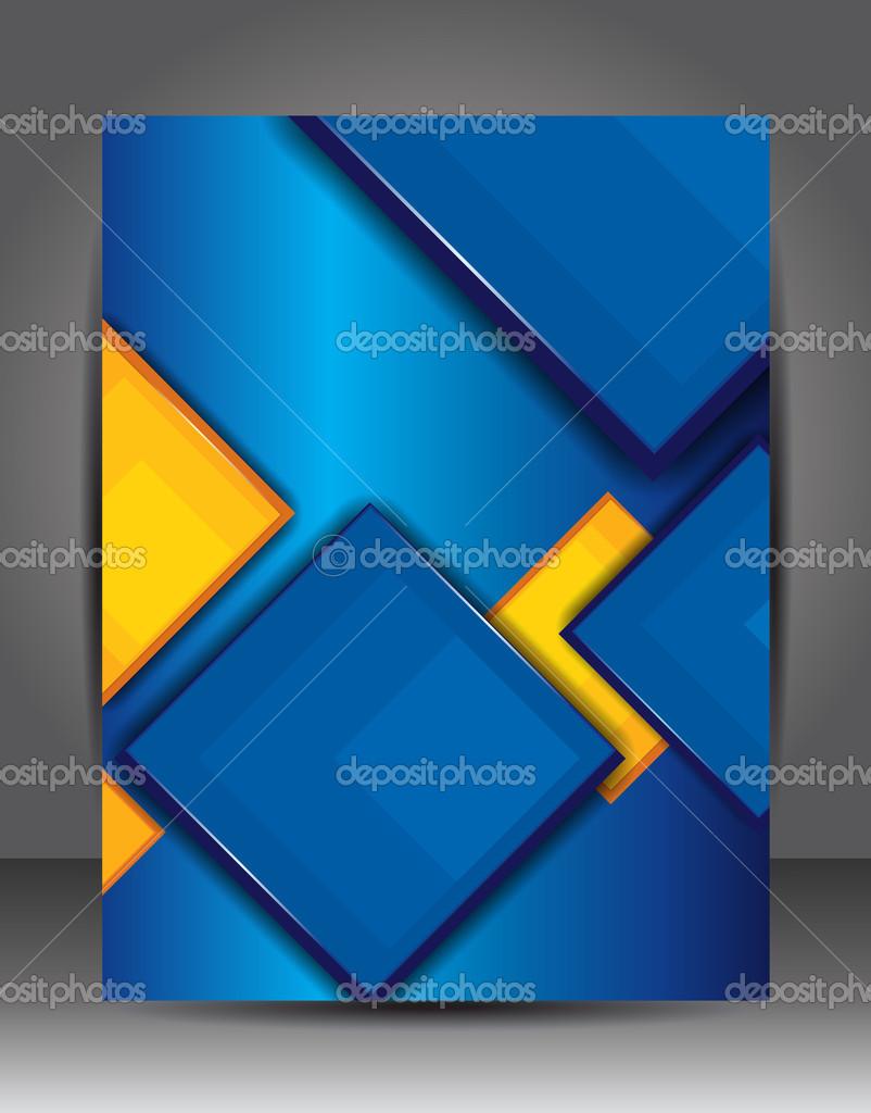 plantilla de capa — Vector de stock © igordudas #42501263