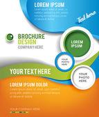 Brožura design obsah pozadí