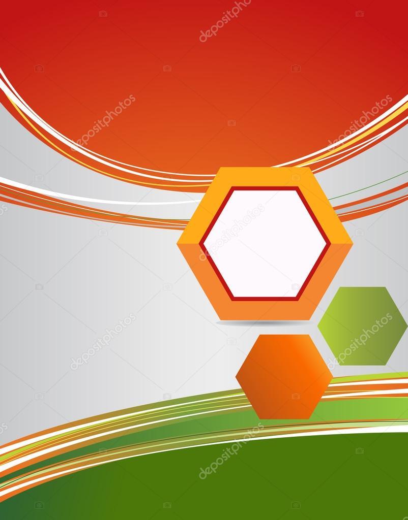 Renkli Broşür Arka Plan Stok Vektör Igordudas 49541371