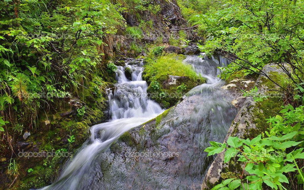Idyllic waterfalls