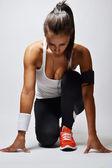 Fotografie nádherné fitness žena