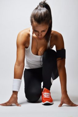Beautiful fitness woman