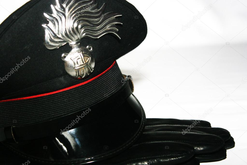 手袋、イタリア軍、警察力と car...