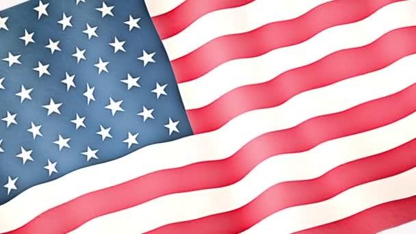 amerikai zászló a fehér ház