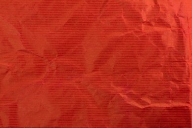 Red wrapping paper texture