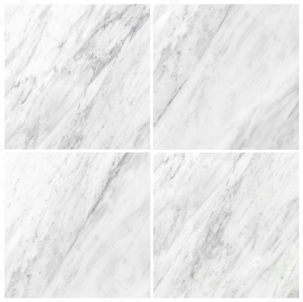 set of white marble texture background (High resolution)