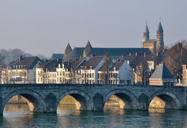 Saint Servatius Bridge in Maastricht