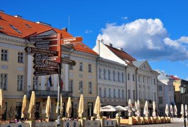 Tartu city center