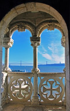 Balcony of Belem Tower