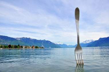 Vevey fork sculpture
