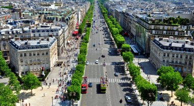 Champs Elysees view