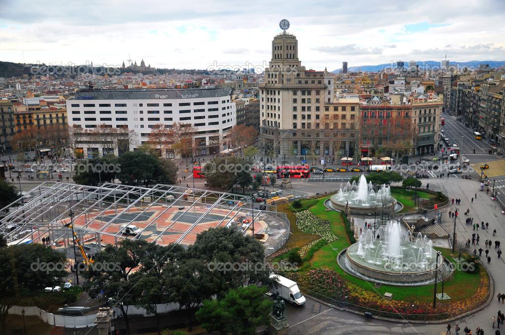 Barselona Foto Vid Sverhu Barselona Gorod Vid Sverhu Stokovoe Redakcionnoe Foto C Krasnevsky 33529347