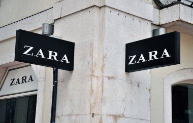 Zara store sign