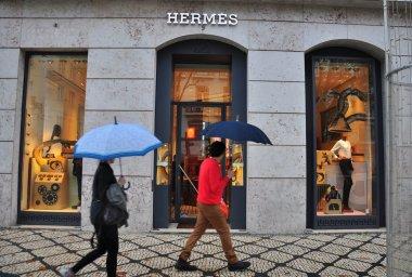 Hermes boutique in Lisbon, Portugal