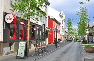 Reykjavik street