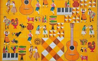 Portuguese culture in azulejos