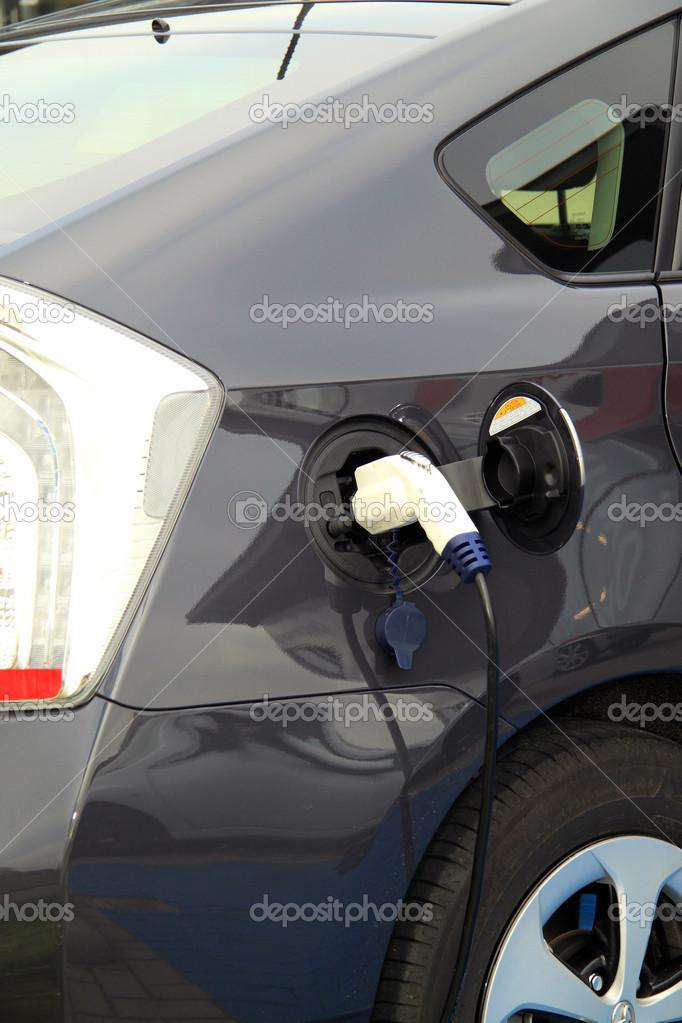 Elektrische Auto Op Kosten Punt Stockfoto C Mayerberg 51366123