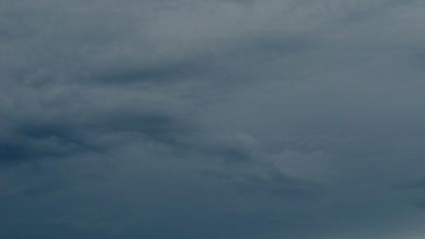 Dark Clouds Background TimeLapse