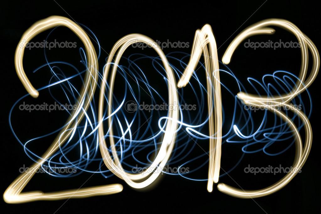 2013 ışık Boyama Stok Foto Thomaslenne 29236205