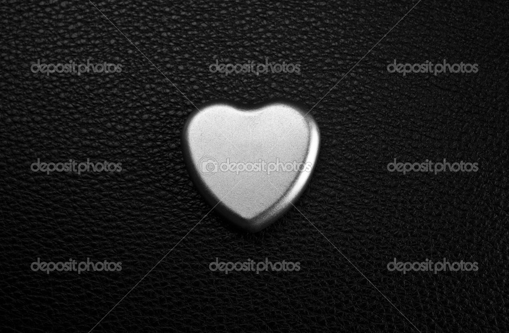 Metal heart — Stock Photo © steauarosie #25682363