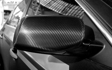 Carbon fibre mirror