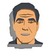 Photo George Clooney portrait