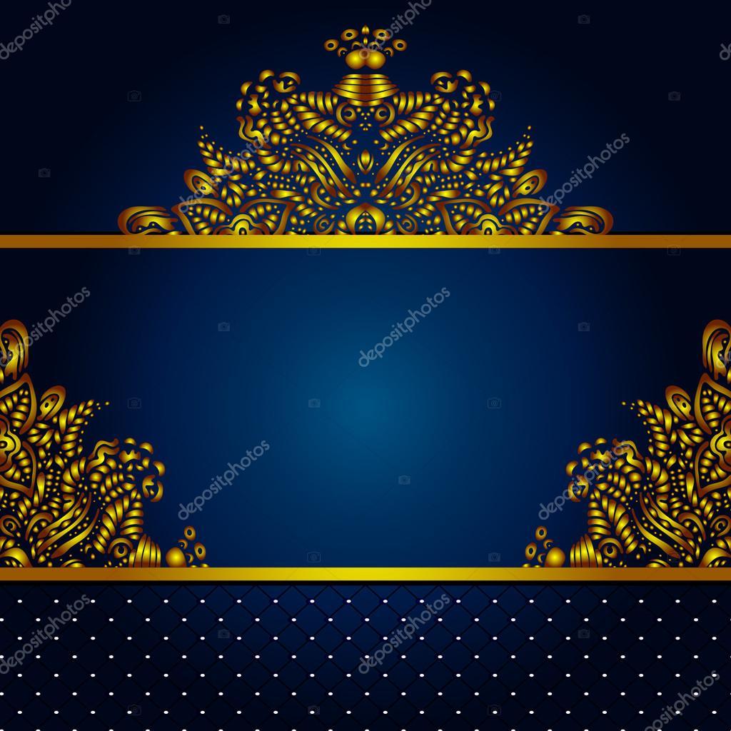 Royal Vektor Rahmen Hintergrund — Stockvektor © astya #32762881
