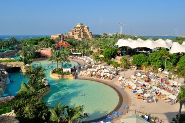 The Aquaventure waterpark, UAE