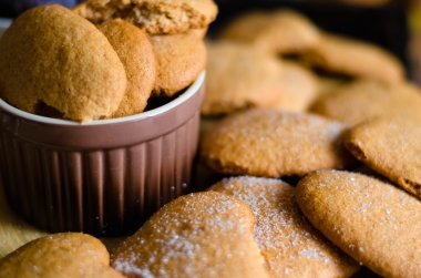 homemade honey cookies