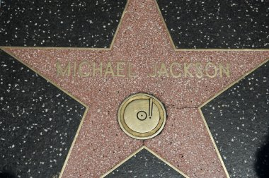 Hollywood Walk Of Fame Star Michael Jackson
