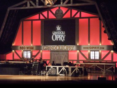 The legendary Grand Ole Opry in Nashville, Tennessee.