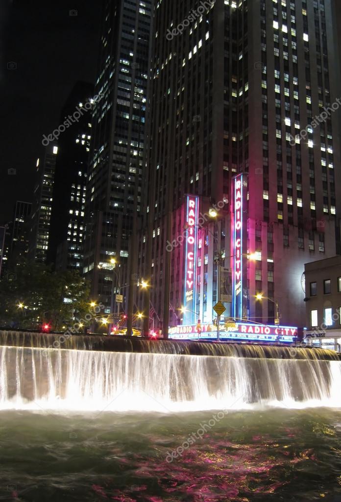 New York - 22 Mai: New Yorker Wahrzeichen, der Radio City Music Hall ...