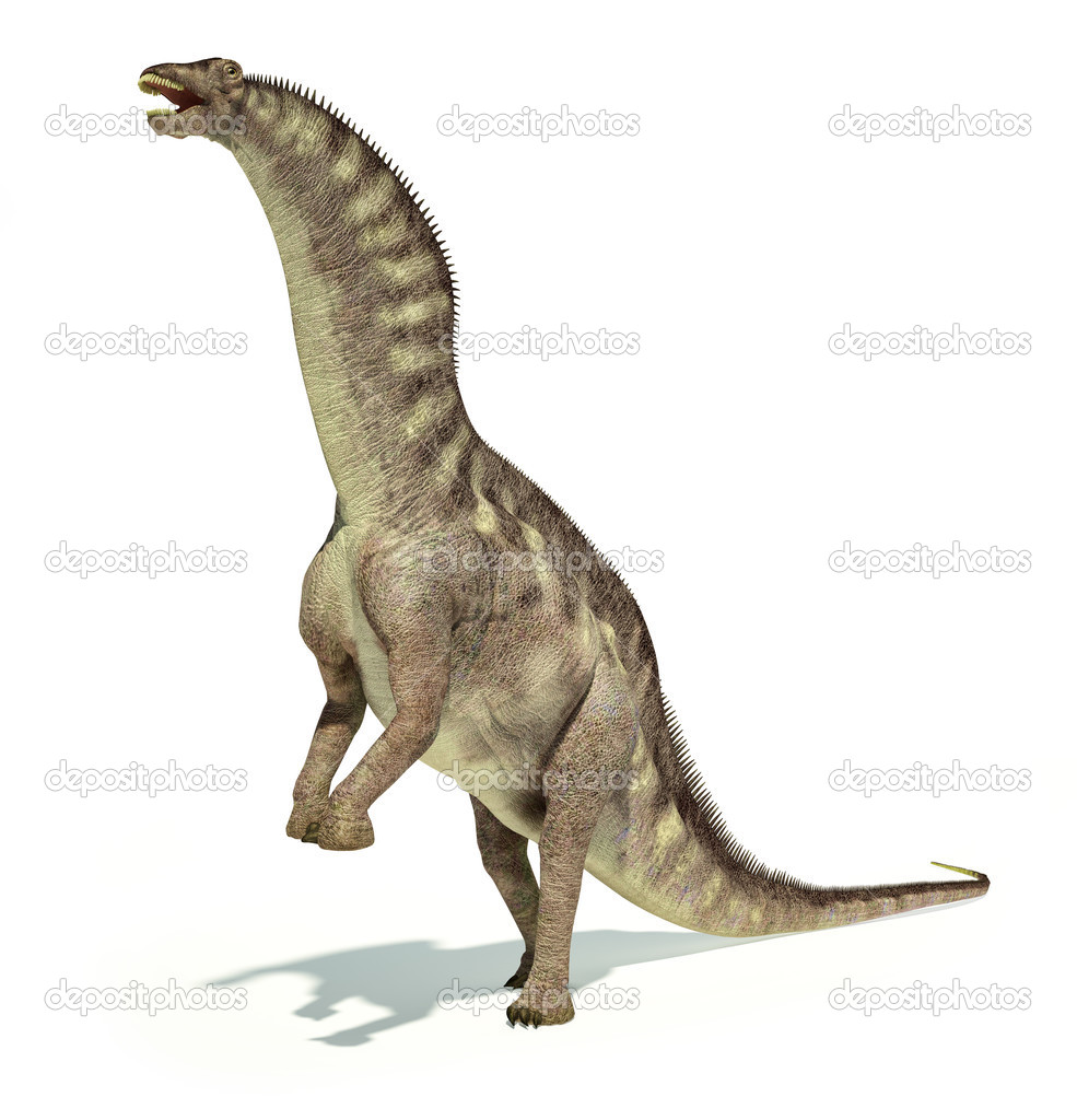 アマルガサウルス恐竜の写実的な...