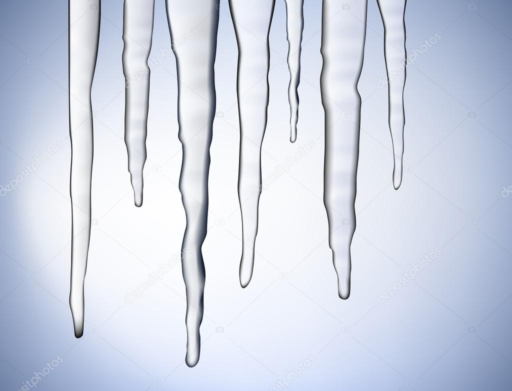 Vector icicles