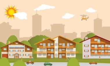 Suburban accommodation
