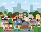 Fotografie Suburban Häuser