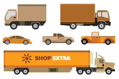Cars collection (retro colors)