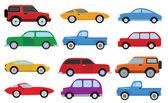 jednoduché auta kolekce