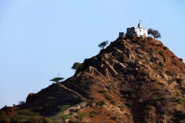 Gayatri Temple in Pushkar, Rajasthan, India