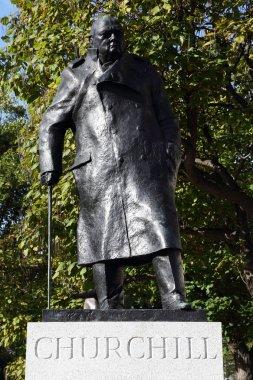 Statue of Winston Churchill in Parliament Square