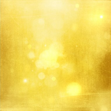 Gold Christmas abstract background