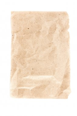 Recycled paper sheet texture or background