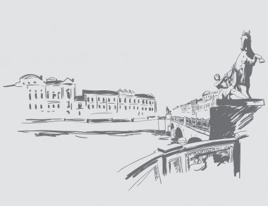 Saint Petersburg sketch