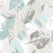 Fotografie Abstrakte nahtlose Muster mit Blättern und Blumen Hintergrund mit Blumen Grunge Textur