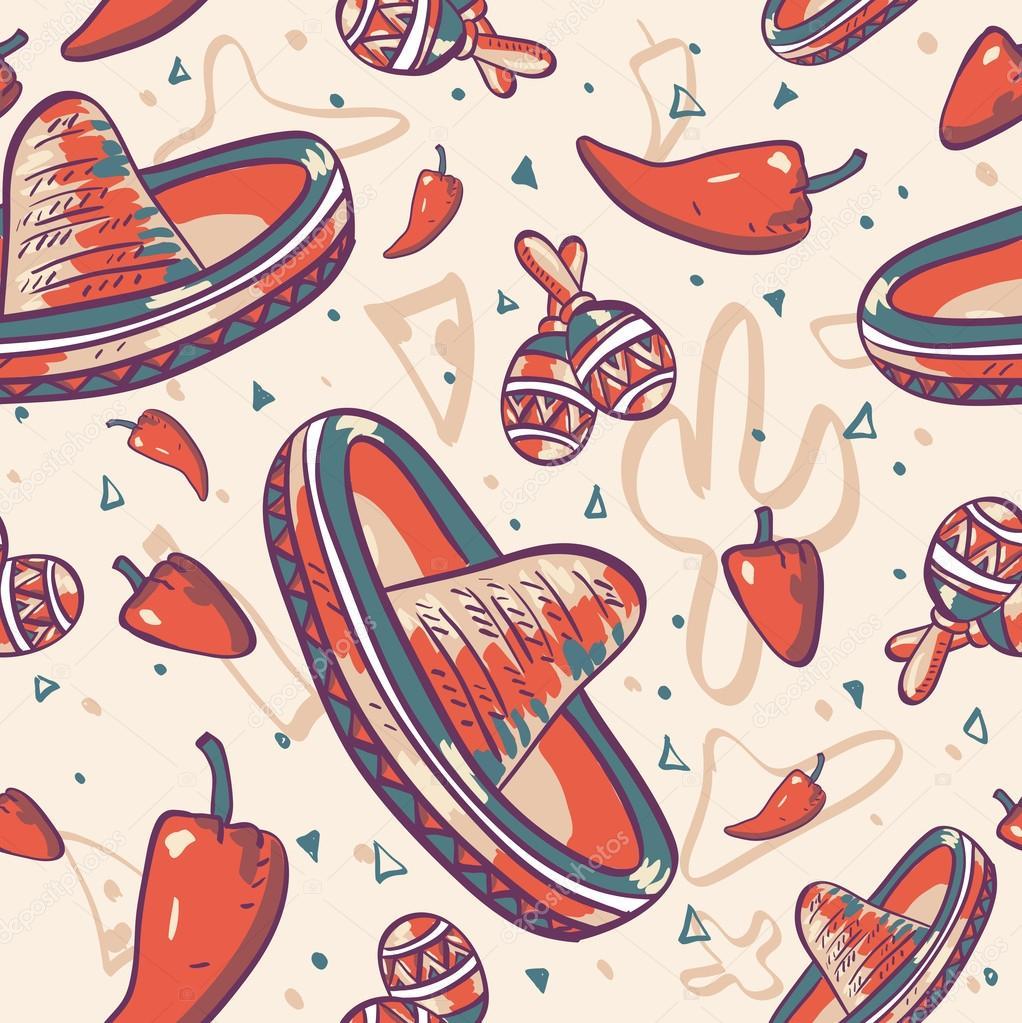 Cinco de mayo vector seamless pattern stock vector depiano cinco de mayo vector seamless pattern stock vector kristyandbryce Gallery