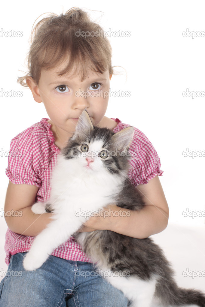 mladá těsná kočička