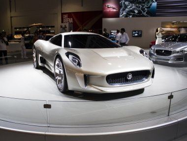 Jaguar Cx 16 front view